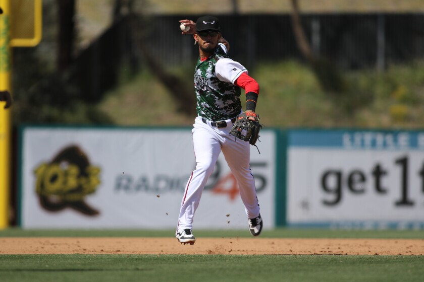 Padres shortstop prospect Gabriel Arias started 2019 at high Single-A Lake Elsinore.