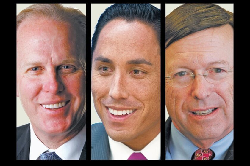 Kevin Faulconer, Todd Gloria, Jan Goldsmith