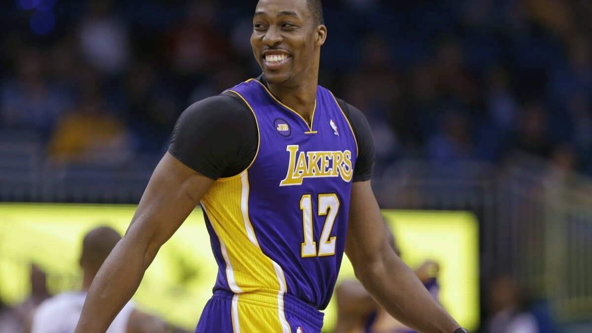 Lakers to sign Dwight Howard to a non-guaranteed contract