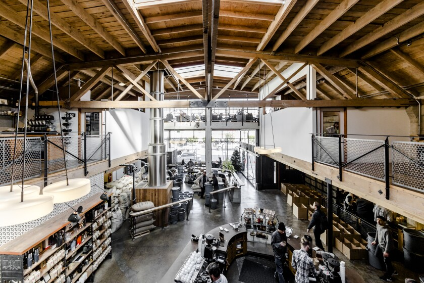 A Sightglass Coffee location in San Francisco