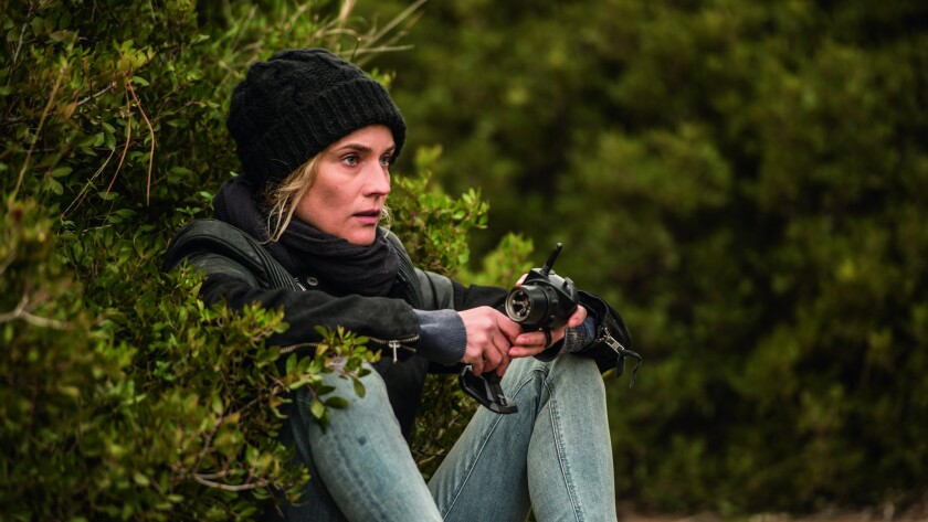 """Diane Kruger in a scene from the movie """"In the Fade."""""""