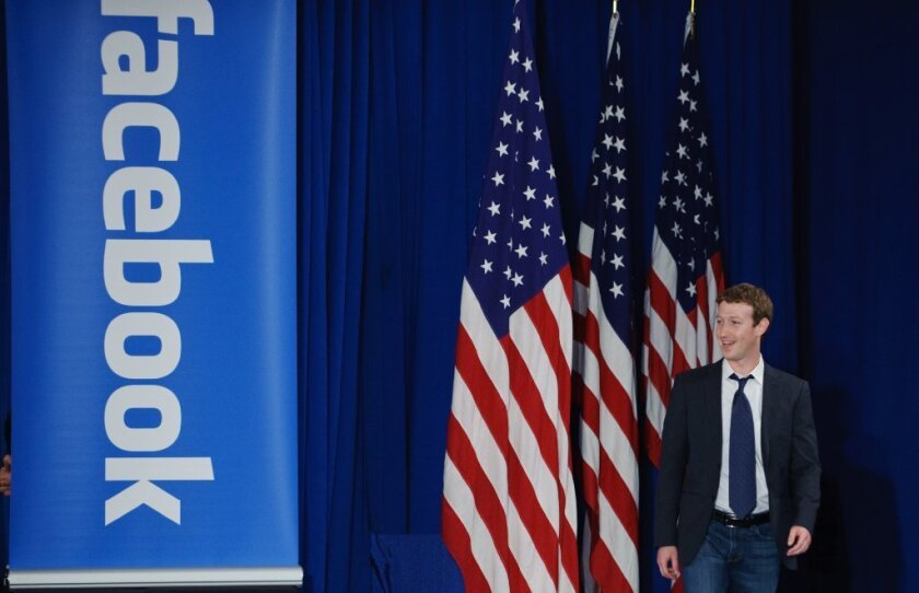 """Facebook Chief Executive Mark Zuckerberg said it was a """"crazy idea"""" to think the social network could have influenced Tuesday's election."""
