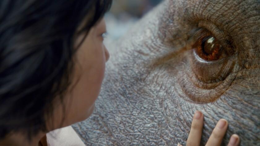 """An Seo Hyun in the film """"Okja."""""""