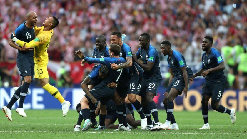 *** BESTPIX *** France v Croatia - 2018 FIFA World Cup Russia Final