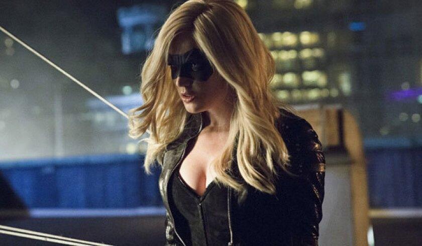 'Arrow' Q&A;: Caity Lotz talks Black Canary, Huntress and more