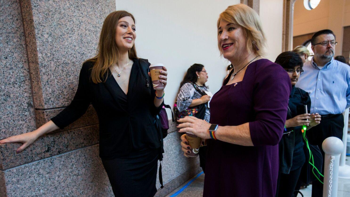 Texas Bathroom Bill Debate Shows A Widening Gap Between Liberal