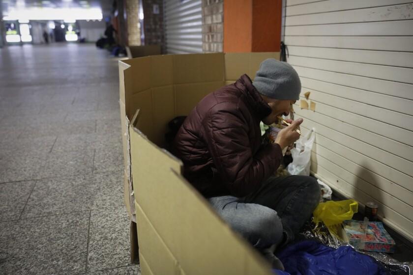 Virus Outbreak Olympics Tokyo Athletes Village Homeless