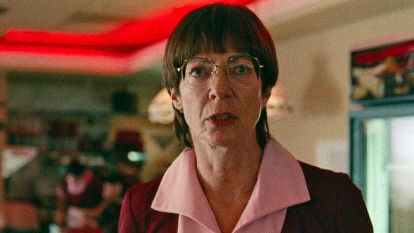"""This image released by Neon shows Allison Janney as LaVona Golden in a scene from """"I, Tonya."""""""