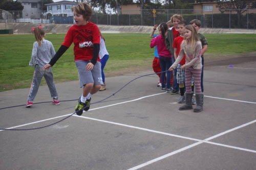 Bird Rock Elementary Jump Rope for Heart 2-27-14