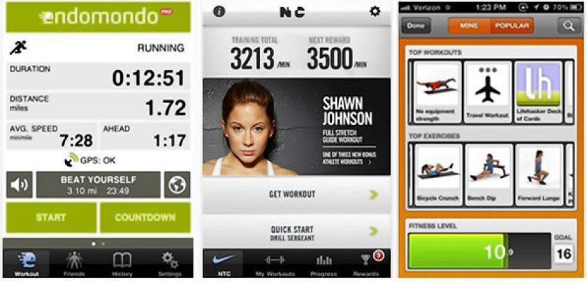 Fitness: Exercise apps for your smartphone - Los Angeles Times