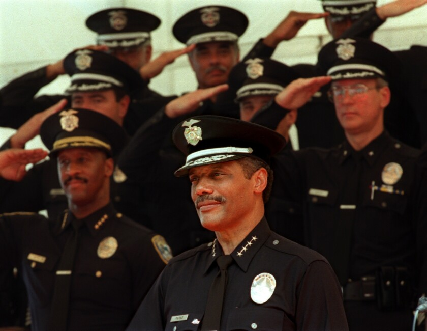 Bernard Parks appointment as chief