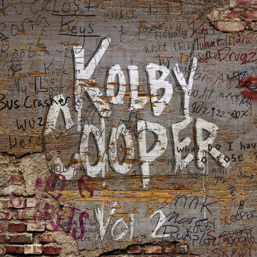"""This cover image released by Combustion Music shows """"Vol. 2"""" an EP by Kolby Cooper. (Combustion Music via AP)"""