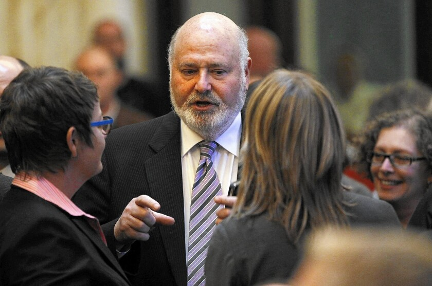 Actor/director Rob Reiner is sponsoring Measure R to control growth. Opponents say the measure could have unintended consequences.