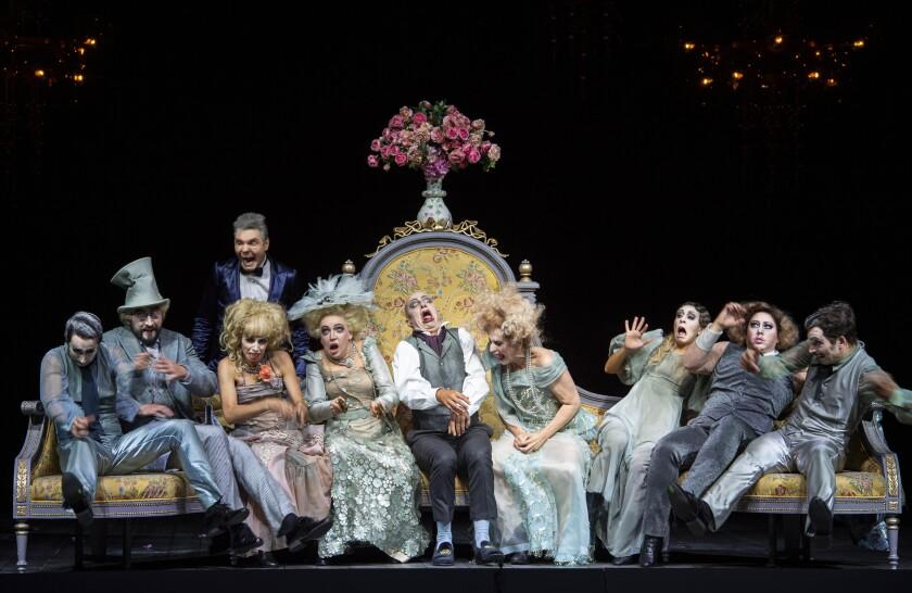 "Barrie Kosky's ""Orphee"" Salzburg production"