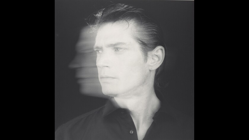 """Self-Portrait,"" 1985. Gelatin silver print."