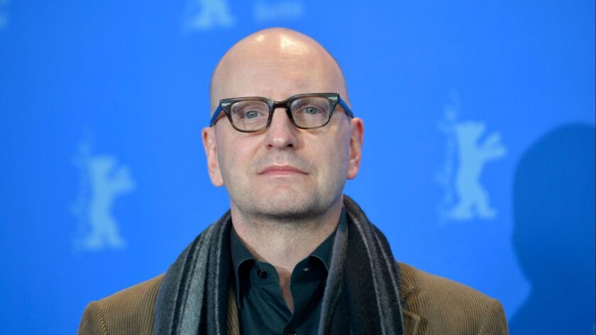 """Director Steven Soderbergh at this year's Berlinale film festival in Berlin, where the film """"Unsane"""" was presented in competition"""