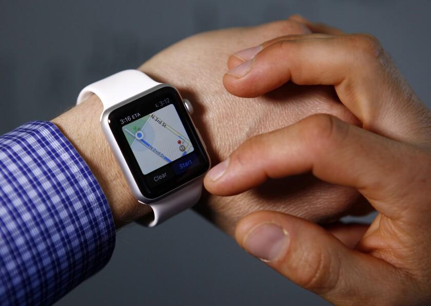 Feeling lost? Try Apple Watch