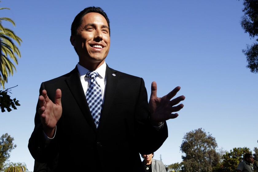 Acting Mayor Todd Gloria believes San Diego should raise its minimum wage above the pending statewide increase.