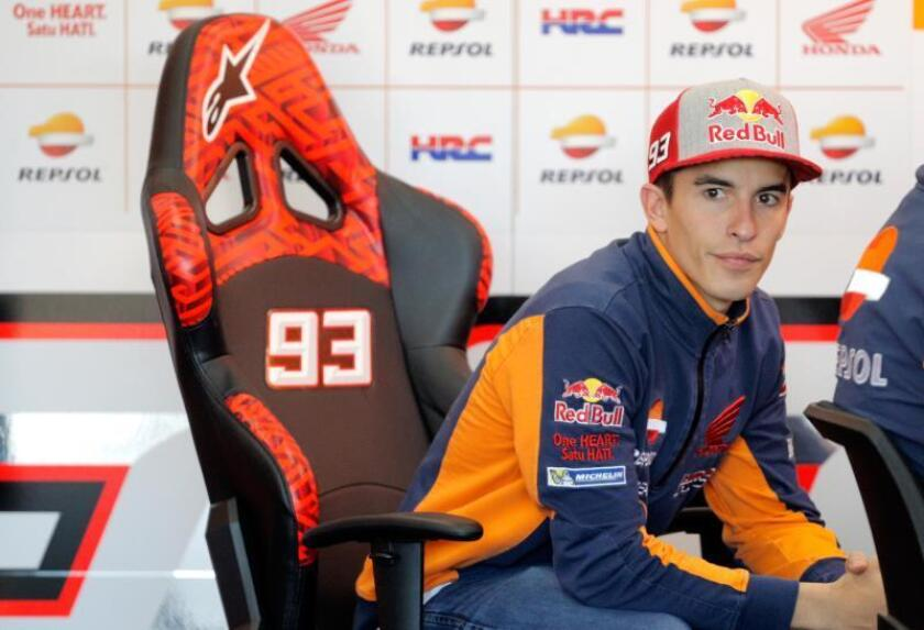 El piloto español Marc Marquez. EFE/Archivo