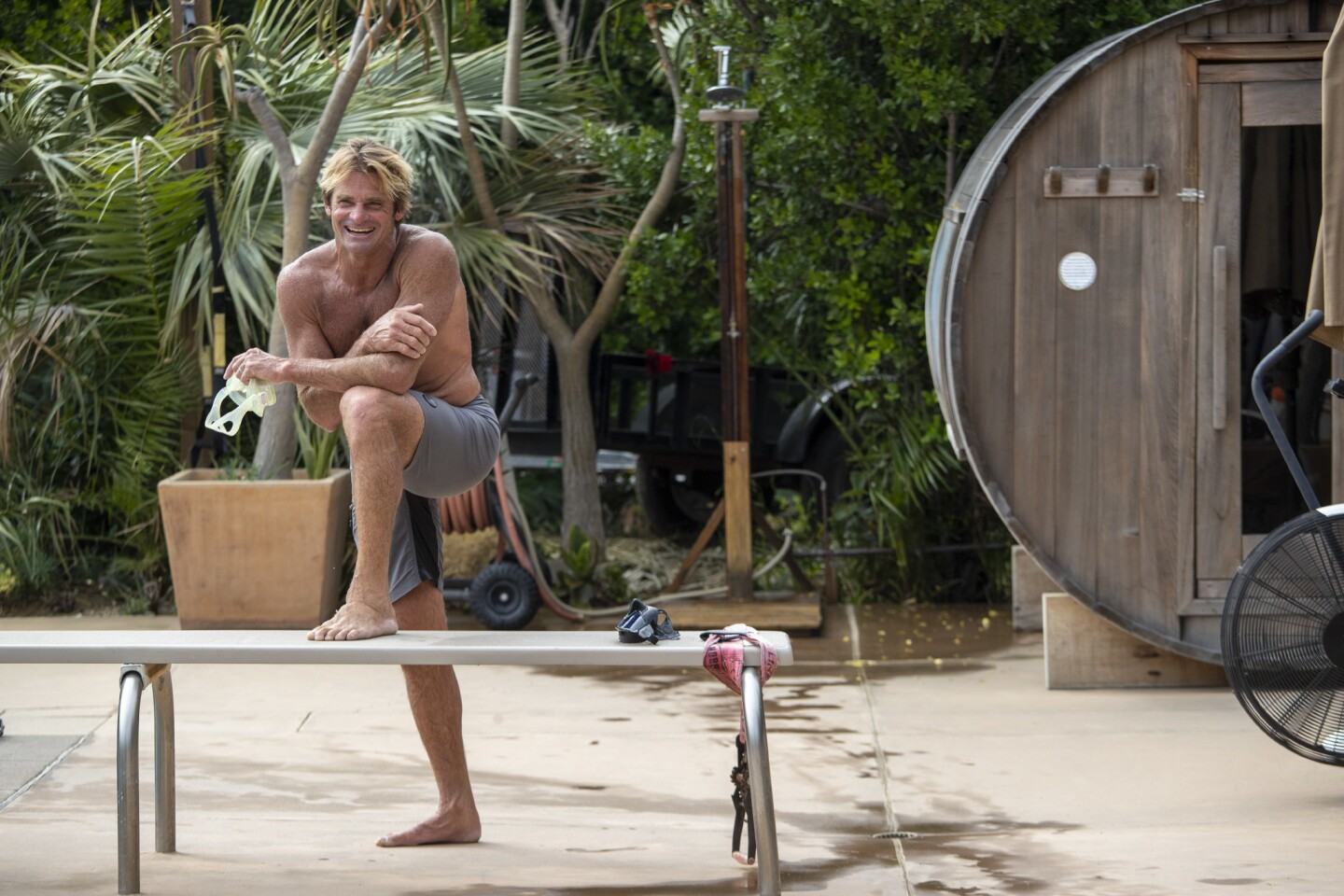 """In his new book """"Liferider: Heart, Body, Soul, and Life Beyond the Ocean,"""" Laird Hamilton explores what it means to be human in the age of technology."""