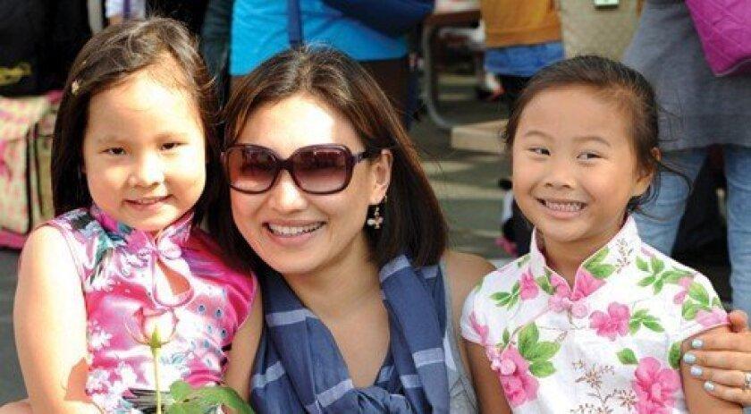Ashley Bing, Michelle Bing, Joyce Wu (Photo: Jon Clark)
