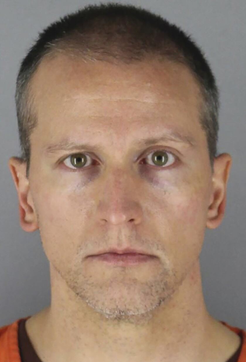 Former Minneapolis police Officer Derek Chauvin.