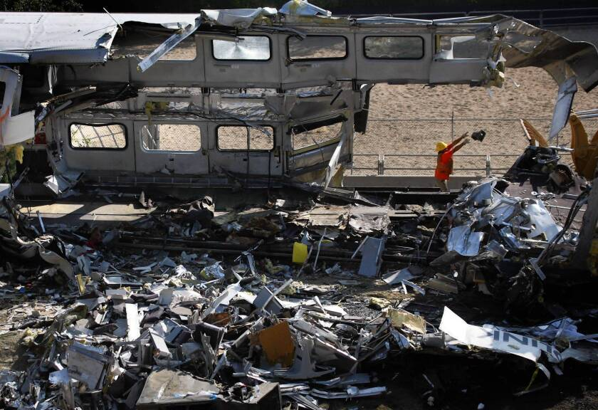 The deadly 2008 Metrolink crash in Chatsworth prompted Congress to pass legislation requiring the nation's railroads to install a collision-avoidance system by Dec. 31, 2015.