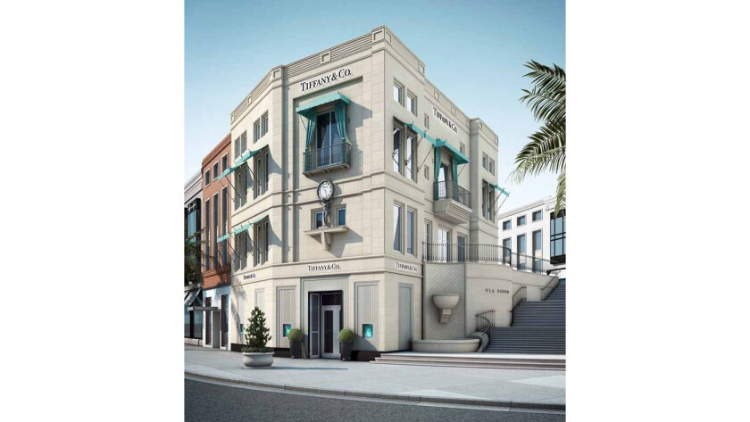 Tiffany & Co. on Rodeo Drive