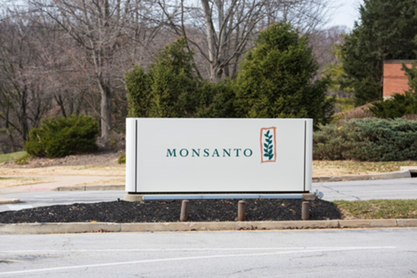 A sign outside Monsanto's Chesterfield, Mo., headquartersNew owner Bayer announced Monday that it will nix the brand name as soon as August, when its $66-billion acquisition of Monsanto is completed.