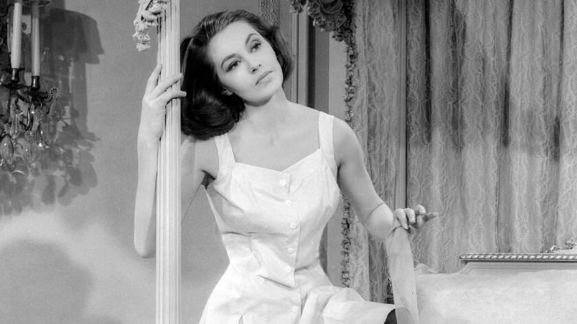 "Cyd Charisse as Ninotchka in 1957's ""Silk Stockings."""