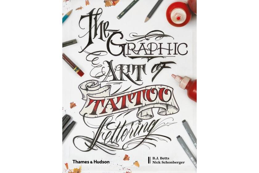 Art of tattoo lettering
