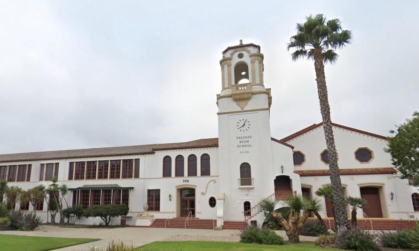 Salinas High School building exterior