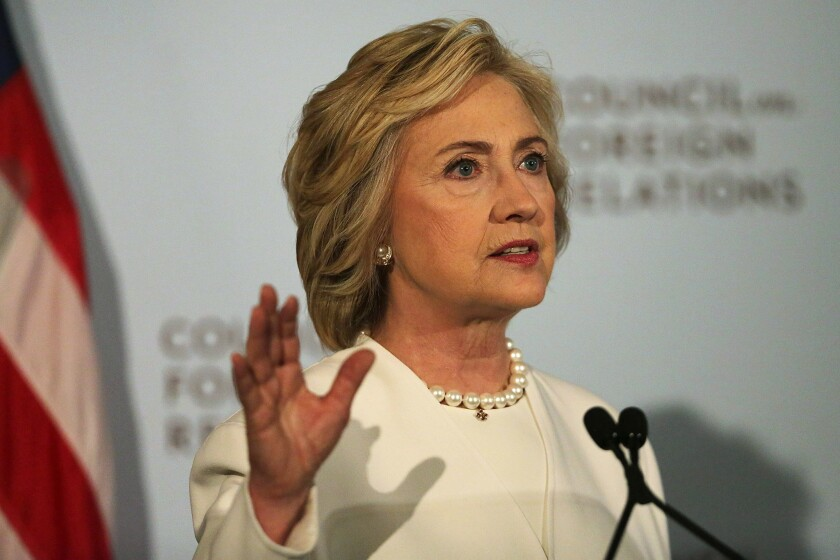 Hillary Clinton on national security