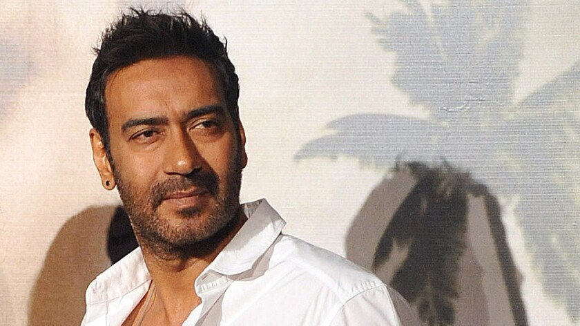 """Indian actor Ajay Devgn has said he would not work with Pakistani actors until """"matters settle down."""""""