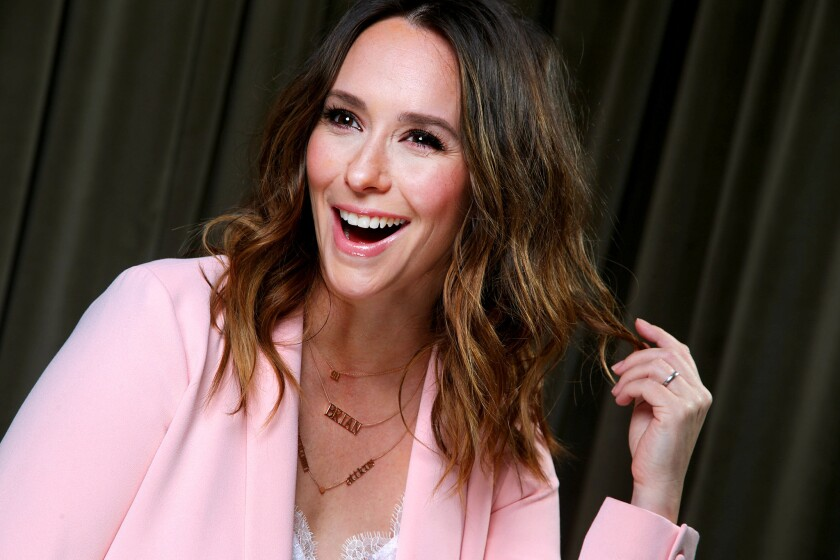 "Jennifer Love Hewitt returned to series TV this fall in the Fox series ""9-1-1"" after taking a hiatus from acting for motherhood."