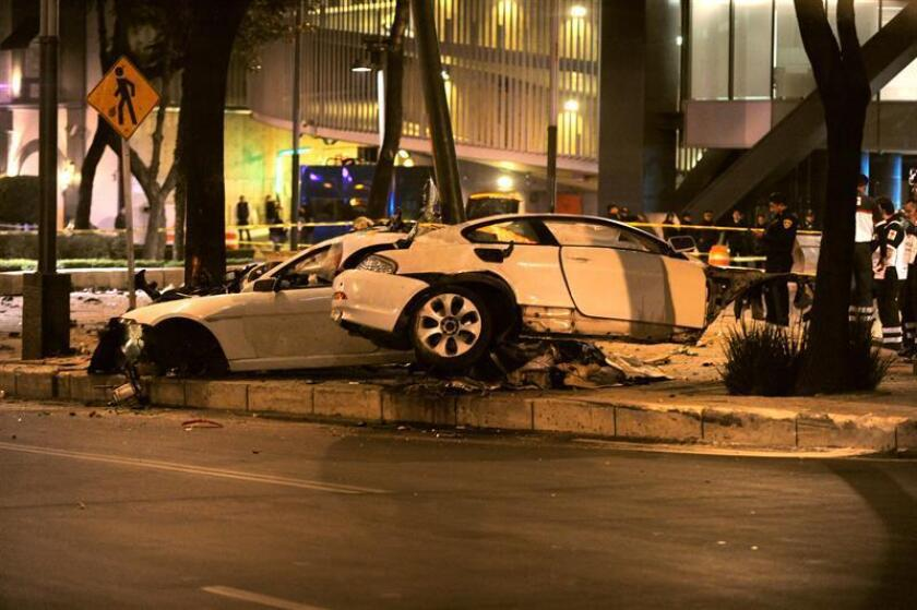 Un tribunal de enjuiciamiento sentenció hoy por homicidio culposo al conductor implicado en un choque vehicular que dejó cuatro muertos el 31 de marzo de 2017, informó hoy la Procuraduría General de Justicia (fiscalía) de Ciudad de México. EFE/STR
