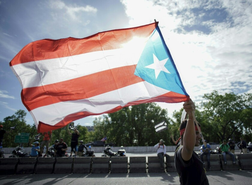 Protest continue in Puerto Rico