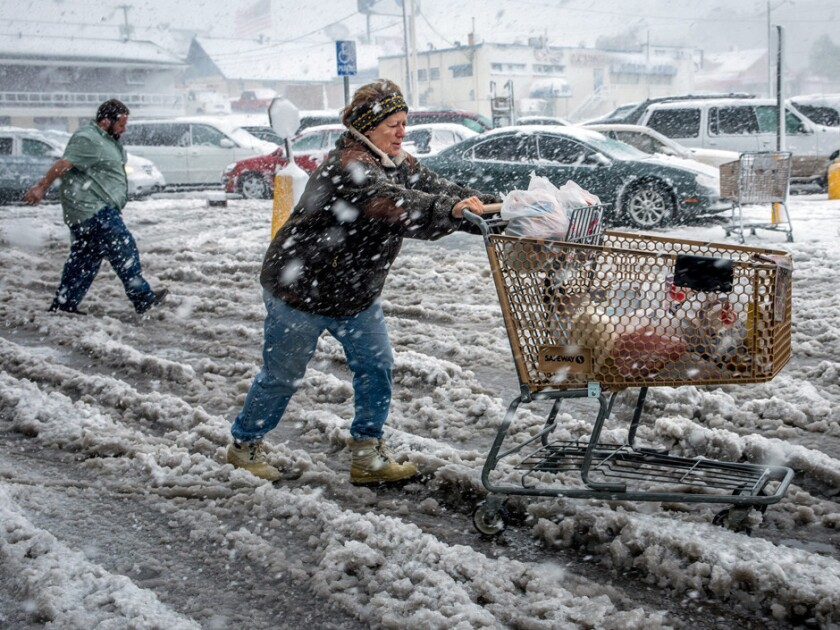 Frigid weather in January is being blamed for retail sales numbers that missed expectations.