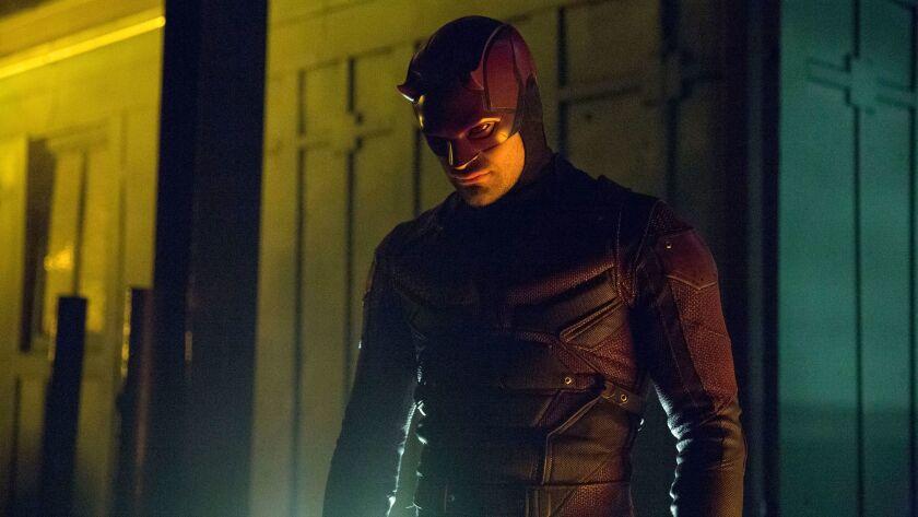 """Charlie Cox in """"Marvel's Daredevil."""""""