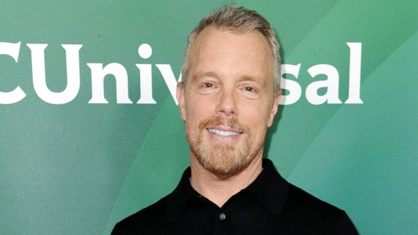FILE - In this Jan. 17, 2017, file photo, Gunnar Peterson attends the NBCUniversal portion of the 20