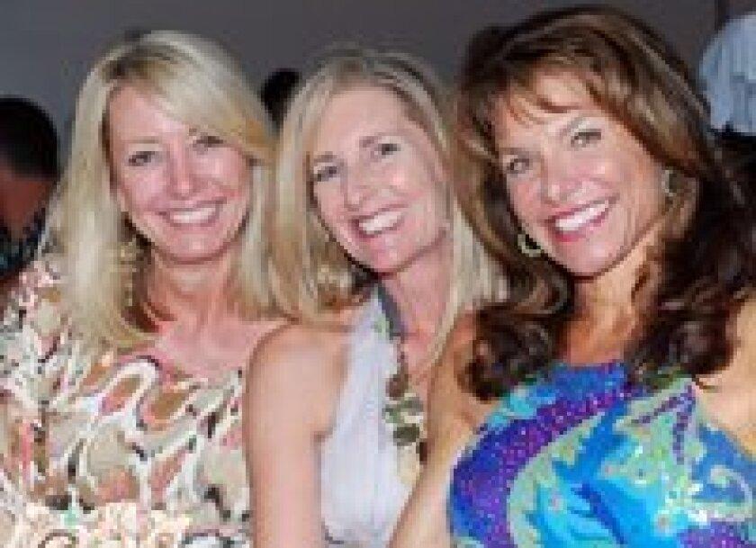 Pam Beal, Tina Schneider and Laura Brenn