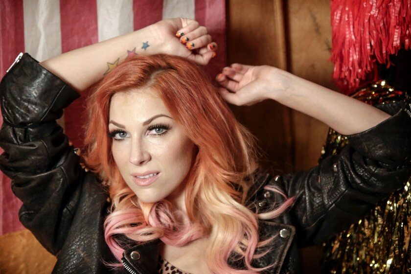 """""""A lot of times, if you're not getting inspiration right away, we'll listen to stuff to get inspired,"""" said songwriter Bonnie McKee. """"In all the rooms I'm working in now, people are much more self-conscious about that."""""""