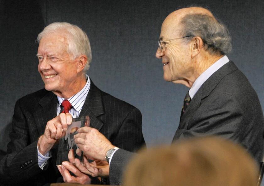 Jimmy Carter, Leonard Beerman