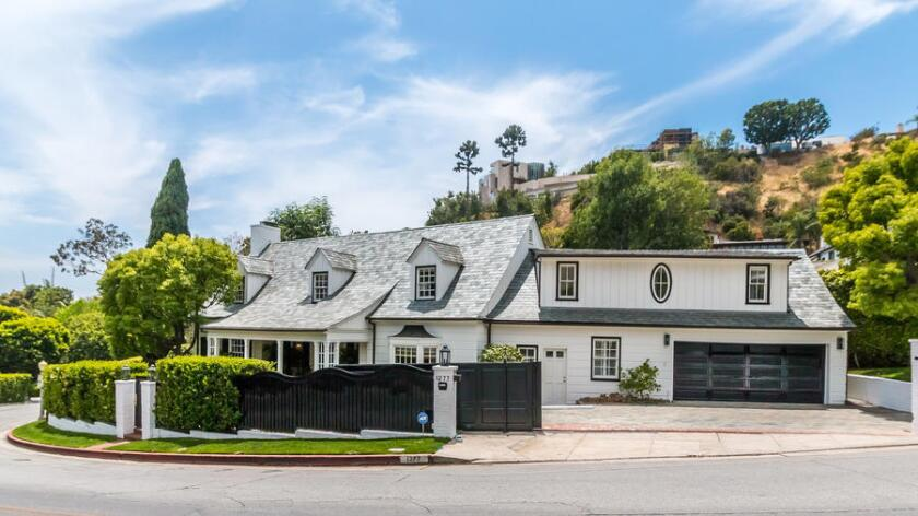 The 1935 Traditional-style home in Hollywood Hills West counts Groucho Marx and film producer Irwin Yablans among its former owners.