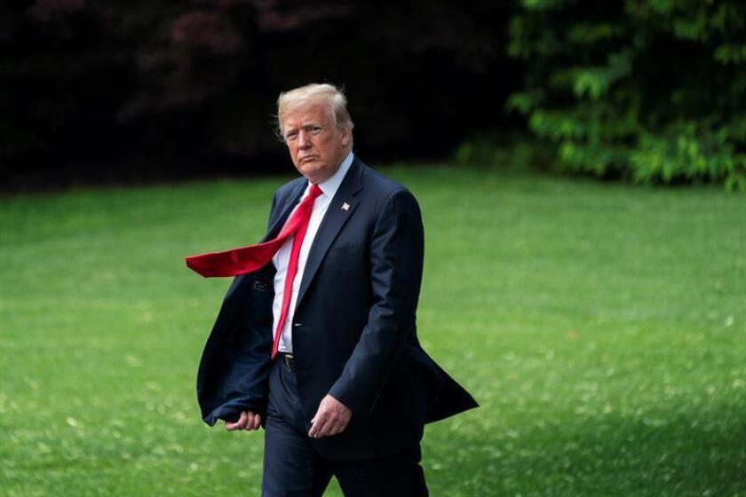 El presidente, Donald Trump, planea ofrecer el puesto de director de comunicación de la Casa Blanca a Bill Shine, un exejecutivo de la cadena de televisión favorita del mandatario, la conservadora Fox News, informaron hoy varios medios de comunicación. EFE/Archivo