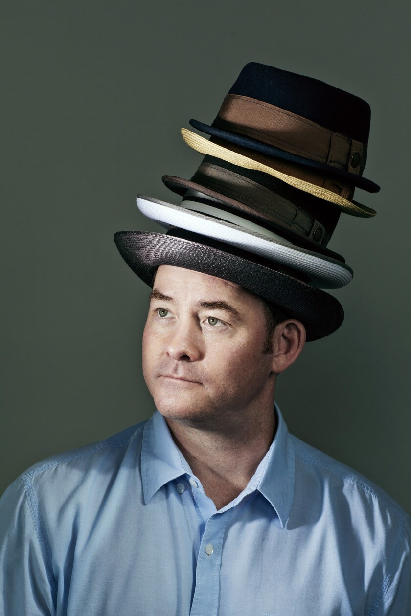 """David Koechner is the actor and comic best best known for the """"Anchorman"""" movies, where he plays sportscaster Champ Kind. He appears onstage at Flappers Comedy Club in Burbank on June 11."""