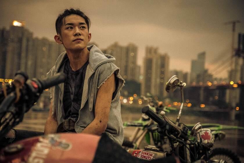 """Jackson Yee as Xiao Bei who befriends a bullied teen in """"Better Days,"""""""