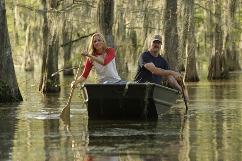 """Maria Bello as May and William Hurt as Brett in """"The Yellow Handkerchief."""""""