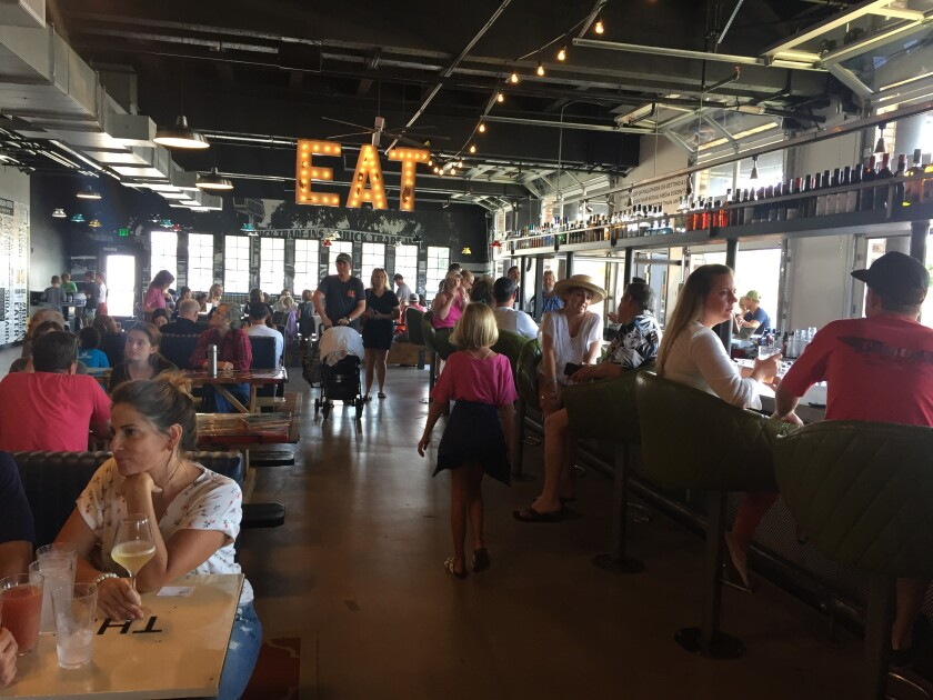 The Windmill Food Hall in Carlsbad opened on Sept. 1.