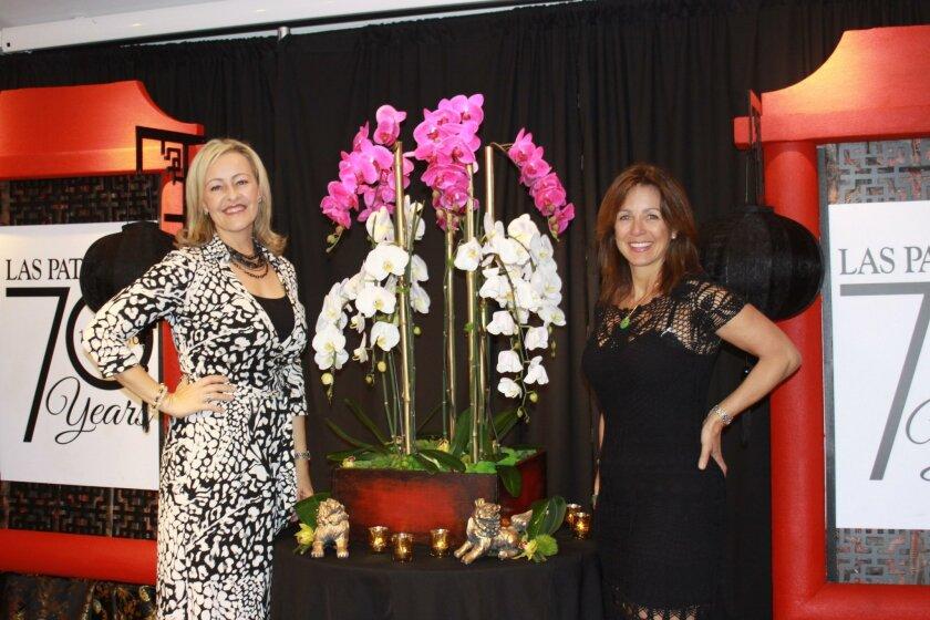 2016 Jewel Ball Chair Kathryn Gayner and Las Patronas President Lisa Betyar